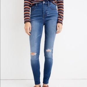 Madewell | High Rise Road Trippin Raw Hem Jeans
